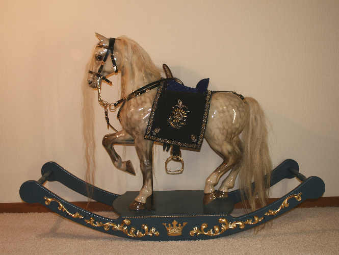 Don Juan An Unique Royal Rocking Horse By Rocking Horse